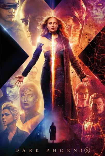 Film bioskop Juni 2019 - X-Men : Dark Phoenix