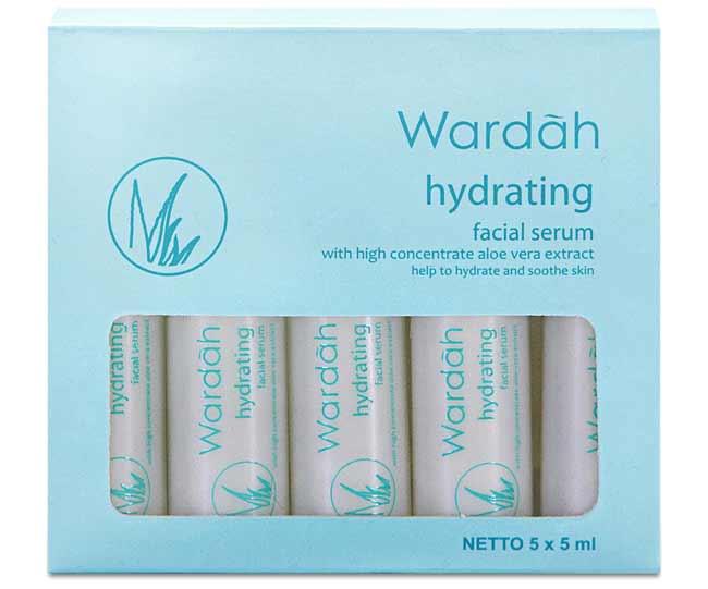Aneka Jenis Serum Wardah Beserta Manfaatnya - Wardah Hydrating Facial Serum
