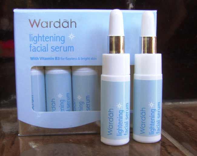Aneka Jenis Serum Wardah Beserta Manfaatnya - Wardah Lightening Facial Serum