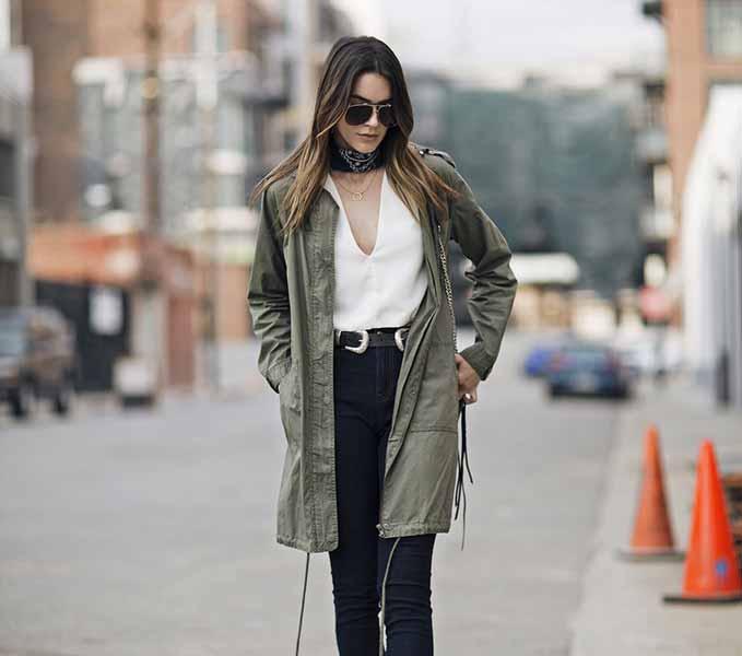 Aneka Model Jaket Wanita Yang Bakal Membuatmu Tampil Makin Gaya - Jaket parka
