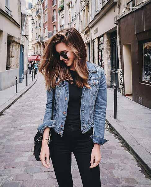 Aneka Model Jaket Wanita Yang Bakal Membuatmu Tampil Makin Gaya - Jaket jeans