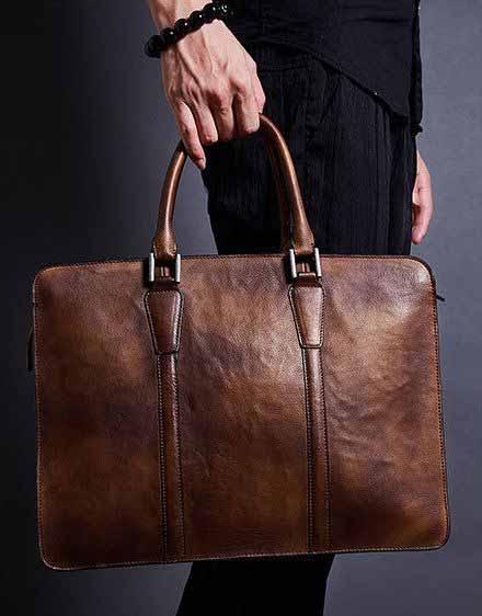 Berbagai Jenis Tas Pria - Briefcase