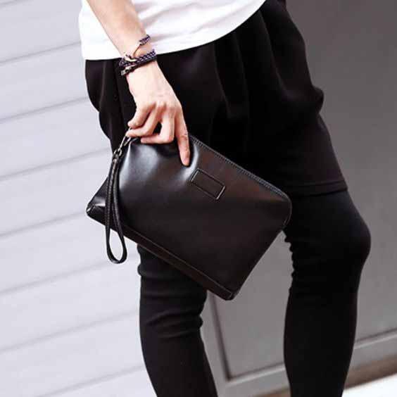 Berbagai Jenis Tas Pria - Clutch Bag