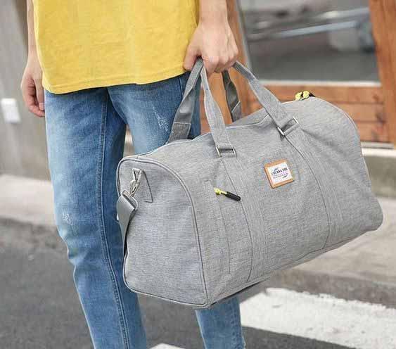 Berbagai Jenis Tas Pria - Duffel Bag