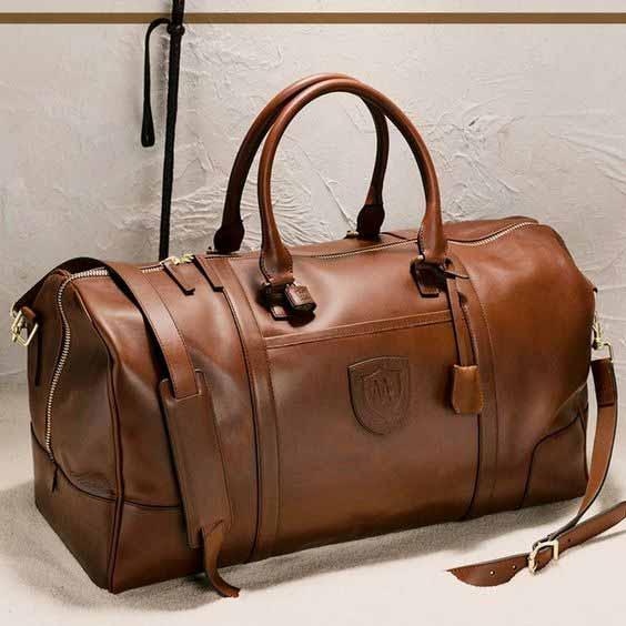 Berbagai Jenis Tas Pria - Holdall Bag