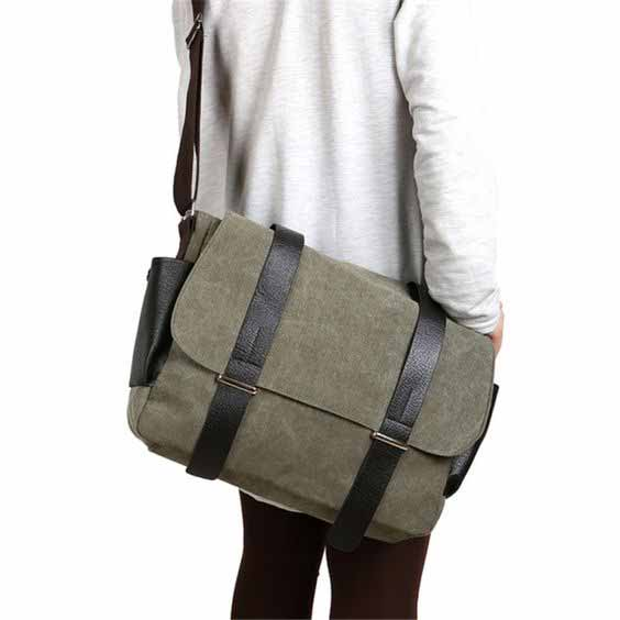 Berbagai Jenis Tas Pria - Messenger Bag