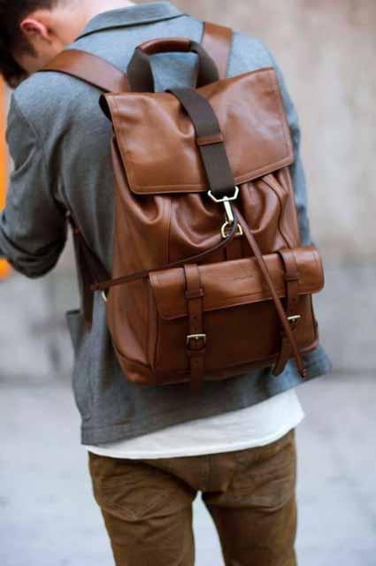Berbagai Jenis Tas Pria - Rucksack Bag