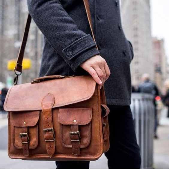 Berbagai Jenis Tas Pria - Satchel Bag
