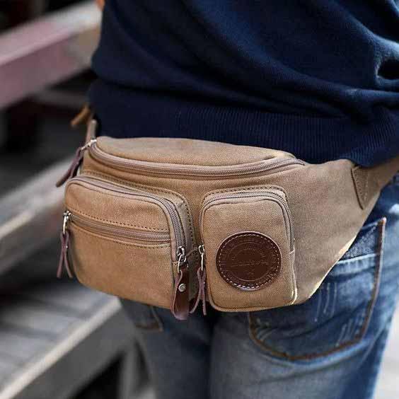 Berbagai Jenis Tas Pria - Waist atau Wrist Bag