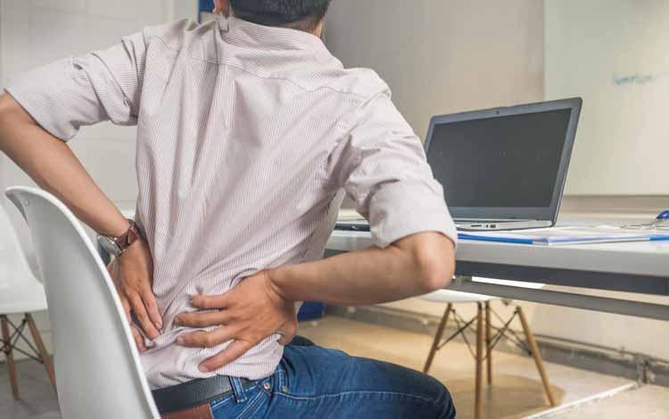 Berbagai Penyakit Yang Mengintai Pekerja Kantoran - Degenerasi Otot dan Kerusakan Saraf