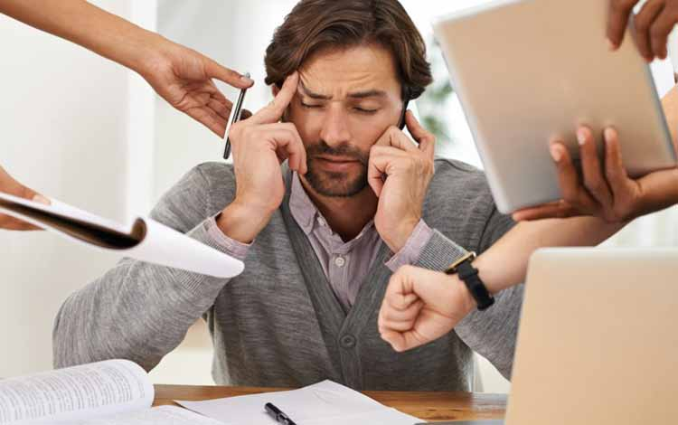Berbagai Penyakit Yang Mengintai Pekerja Kantoran - Depresi