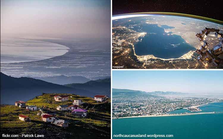 Daftar Danau Terbesar Di Dunia Yang Membuatmu Takjub - Caspian Sea