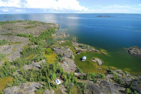 Daftar Danau Terbesar Di Dunia Yang Membuatmu Takjub - Danau Great Slave