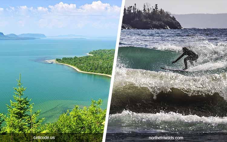 Daftar Danau Terbesar Di Dunia Yang Membuatmu Takjub - Danau Superior