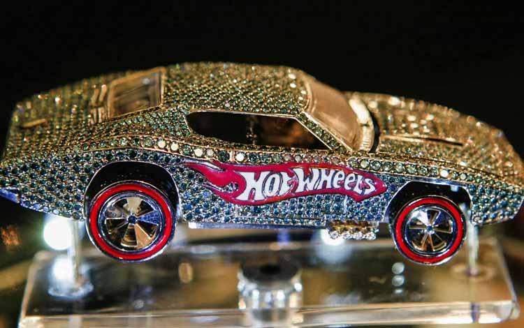 Daftar Mainan Termahal Di Dunia - 40th Anniversary Hot Wheels Car