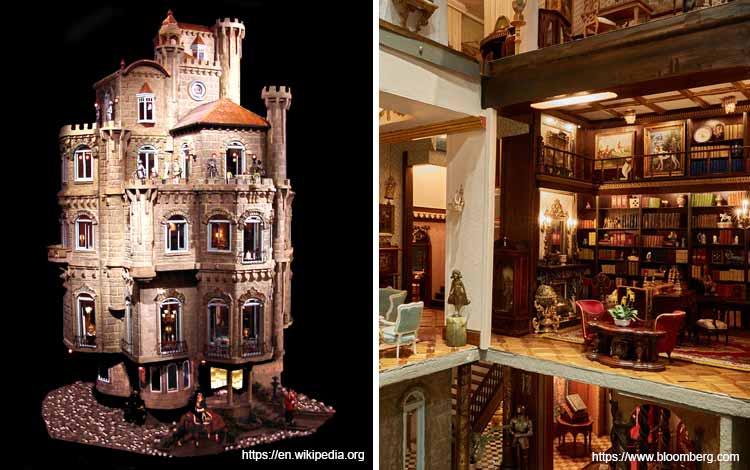 Daftar Mainan Termahal Di Dunia - Astolat Dollhouse Castle