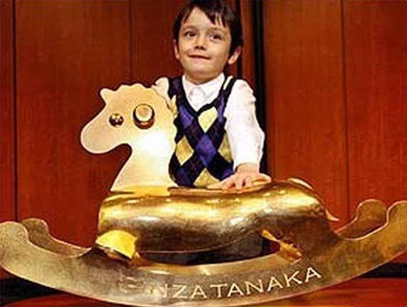 Daftar Mainan Termahal Di Dunia - Kuda Goyang Emas