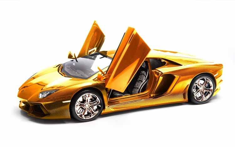 Daftar Mainan Termahal Di Dunia - Lamborghini Aventador