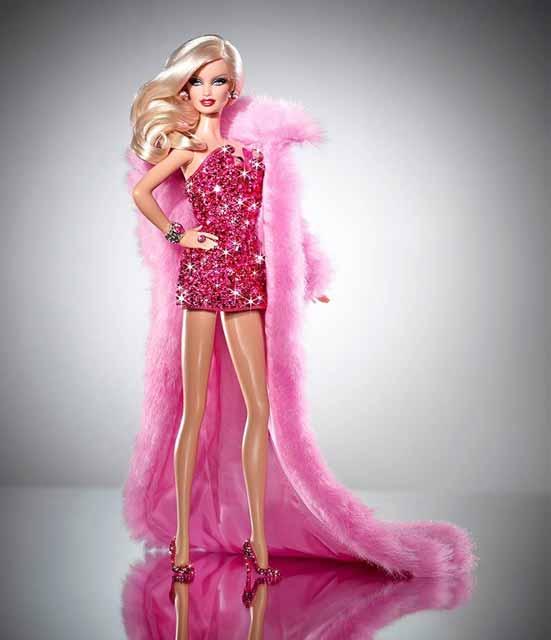 Daftar Mainan Termahal Di Dunia - Pink Diamond Blue Barbie