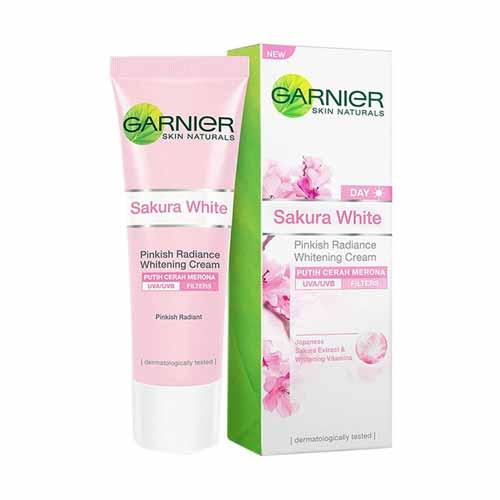 Day Cream Yang Bagus - Garnier Sakura White Day Cream
