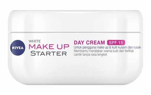 Day Cream Yang Bagus - Nivea Make Up Starter White Day Cream SPF 15