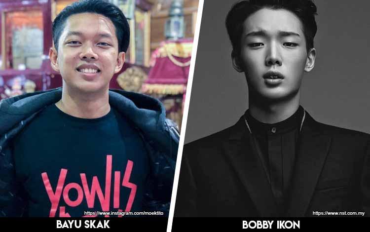 Deretan Artis Indonesia Yang Mirip Artis Korea - Bayu Skak x Bobby iKON