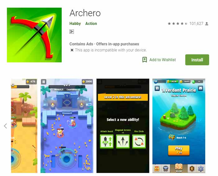 Game offline Terbaru 2019 - Archero