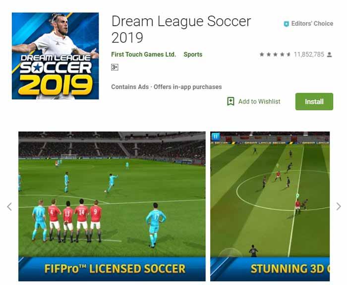 Game offline Terbaru 2019 - Dream League Soccer 2019