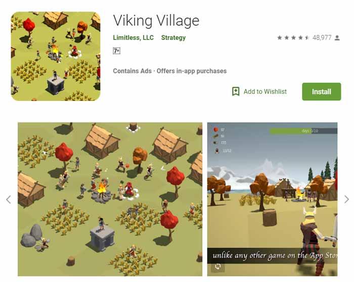Game offline Terbaru 2019 - Viking Village