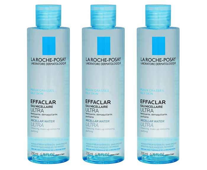 Rekomendasi Micellar Water Untuk Kulit Berjerawat - La Roche Posay Effaclar Micellar Water