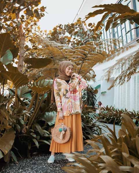 Mix n Match Hijab Terkini Yang Instagramable - Mix n match hijab dimusim panas