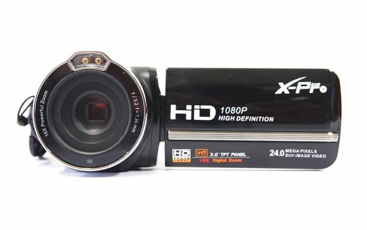 Rekomendasi Kamera Vlog Yang Bagus Dan Murah - X-Pro Cam DVC HDV-PZ3000