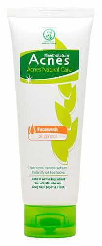 Rekomendasi Sabun Wajah Yang Bagus Untuk Kulit Berminyak - Acnes Natural Care Oil Control Facewash