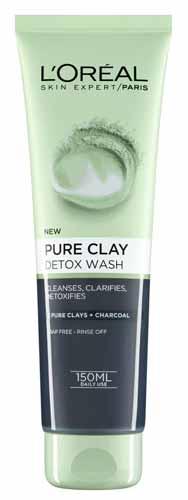 Rekomendasi Sabun Wajah Yang Bagus Untuk Kulit Berminyak - L'Oreal Pure Clay Wash