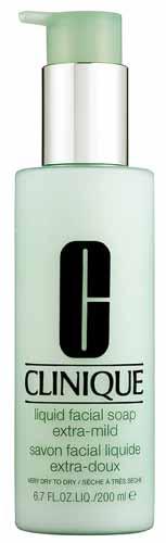 Rekomendasi Sabun Wajah Yang Bagus Untuk Kulit Kering - Clinique Liquid Facial Soap