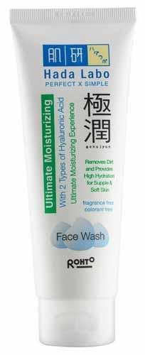 Rekomendasi Sabun Wajah Yang Bagus Untuk Kulit Kering - Hada Labo Gokujyun Face Wash