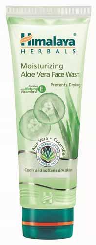 Rekomendasi Sabun Wajah Yang Bagus Untuk Kulit Kering - Himalaya Moisturizing Aloe Vera Face Wash