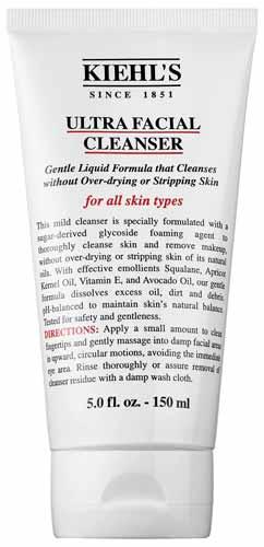 Rekomendasi Sabun Wajah Yang Bagus Untuk Kulit Kering - Kiehl's Ultra Facial Cleanser