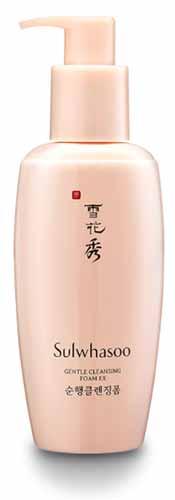 Rekomendasi Sabun Wajah Yang Bagus Untuk Kulit Kering - Sulwhasoo Gentle Cleansing Foam EX