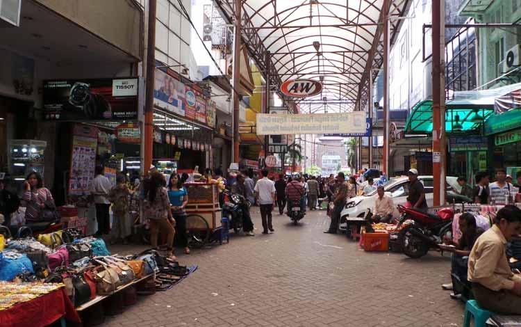 Surga Tempat Belanja Fashion Yang Murah Di Jakarta - Bagian Dalam Pasar Baru