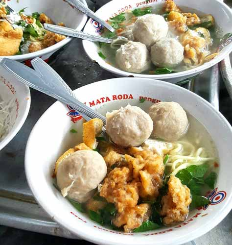 Tempat Makan Bakso Terenak Di Jogja - Bakso Dan Es Buah PK Pakuningratan