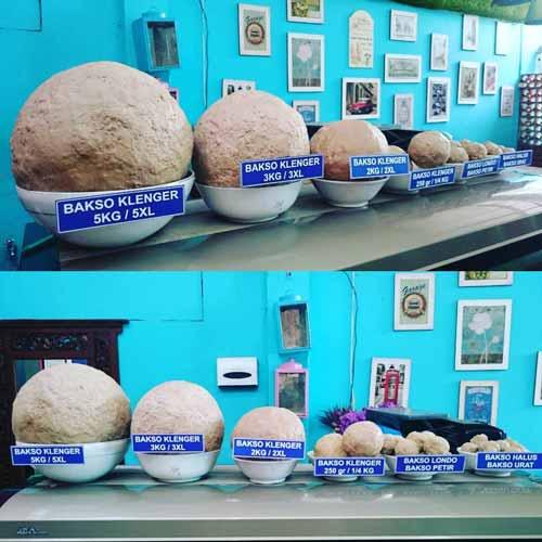 Tempat Makan Bakso Terenak Di Jogja - Bakso Klenger Ratu Sari