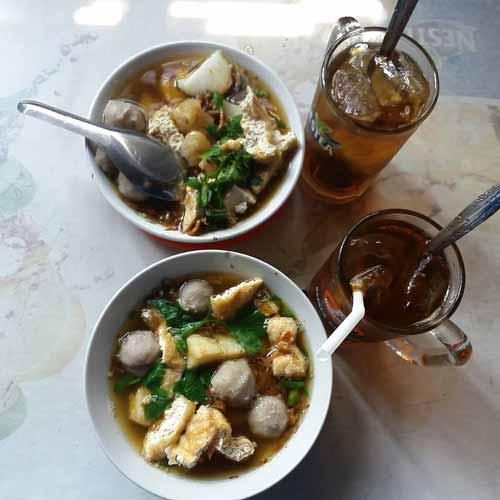 Tempat Makan Bakso Terenak Di Jogja - Bakso Lombok Uleg Pak Di