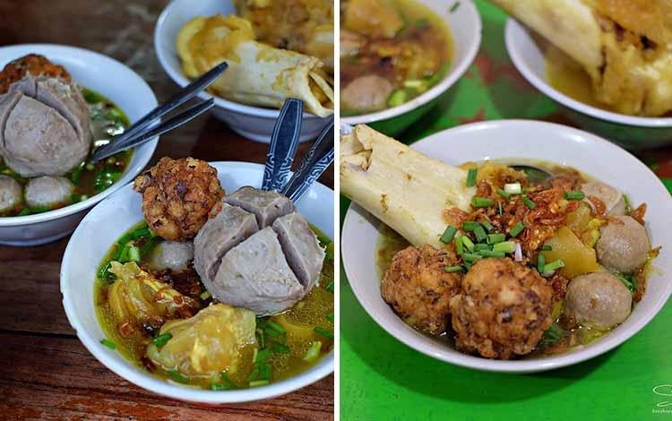 Tempat Makan Bakso Terenak Di Surabaya - Bakso Kikil Manunggal Cak Mat