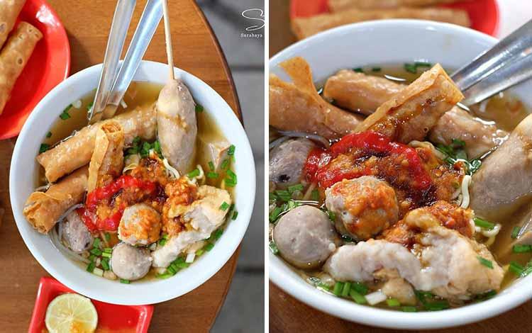 Tempat Makan Bakso Terenak Di Surabaya - Bakso Pak Djo