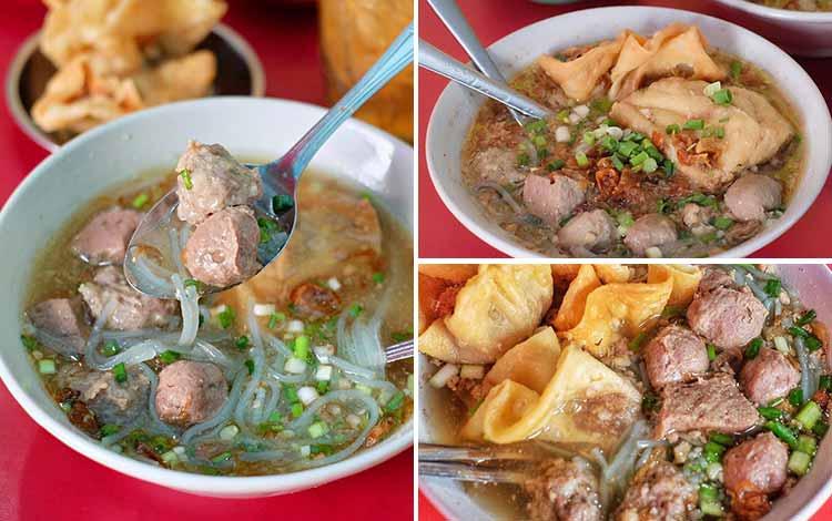 Tempat Makan Bakso Terenak Di Surabaya - Bakso Pak Kus