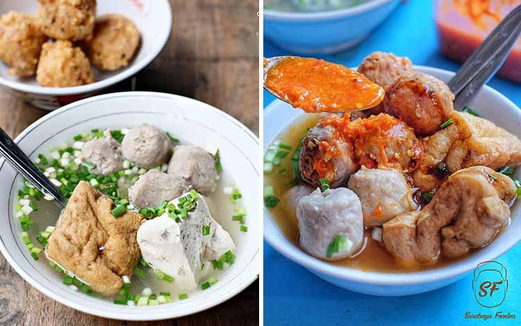 Tempat Makan Bakso Terenak Di Surabaya - Bakso Pak Nur Trunojoyo