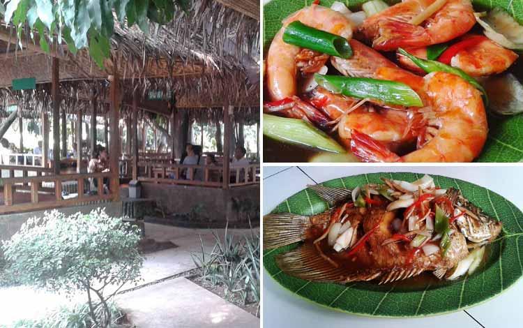 Tempat Makan atau Restoran Dengan Nuansa Alam Di Jakarta - Bambu OJU Seafood & Resto