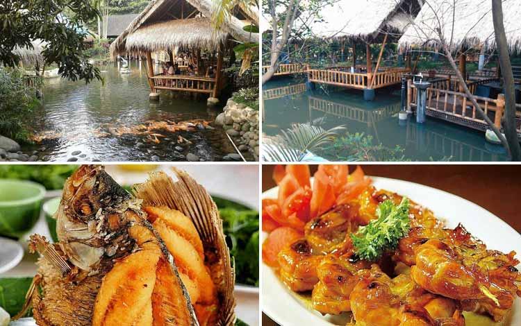 Tempat Makan atau Restoran Dengan Nuansa Alam Di Jakarta - Gubug Makan Mang Engking