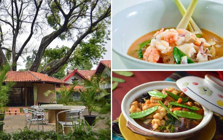 Tempat Makan atau Restoran Dengan Nuansa Alam Di Jakarta - Pulau Dua Restaurant